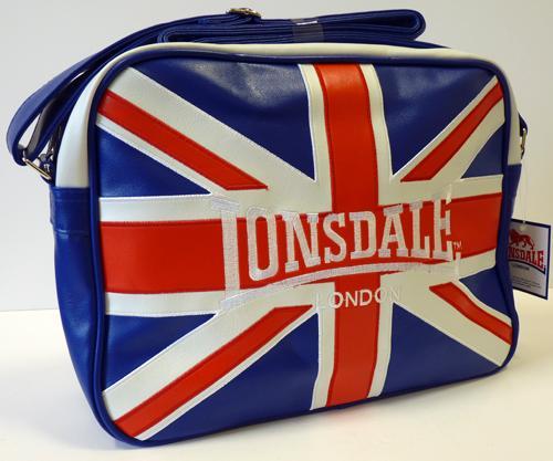 LONSDALE Retro Mod Union Jack Flight Bag af0f37923dad5