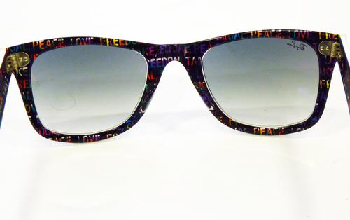 8f3c8fe9de3 Ray Ban Two Tone Wayfarer Sunglasses Classic Ray Ban Eyeglasses Rx5092