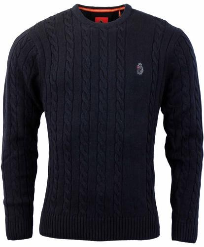 LUKE 1997 HORTON RETRO MOD KNIT JUMPER