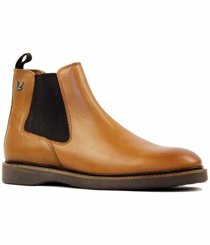 LYLE & SCOTT Prosen Leather Retro Chelsea Boots