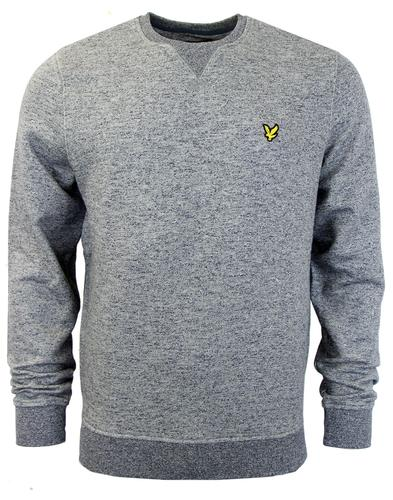 LYLE & SCOTT Retro Indie Marl Loop Back Sweatshirt