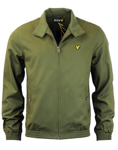 LYLE & SCOTT Retro Mod Harrington Jacket In Sage