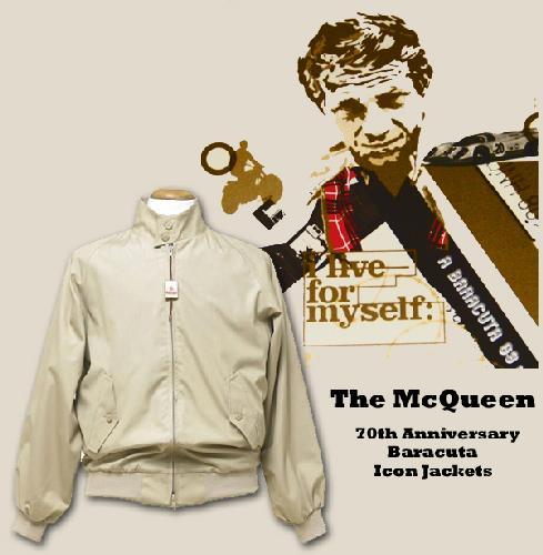 Steve McQueen Wears Baracuta