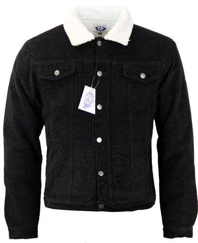Madcap England Men S Sherpa Lined Cord Western Jacket In Black