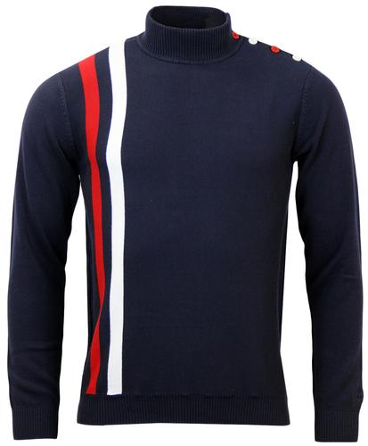 MADCAP RACING COLERIDGE MENS RETRO MOD TURTLE NECK