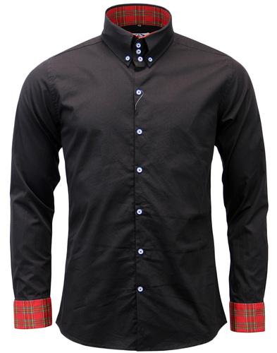 MADCAP ENGLAND THE WHISKEY RETRO MOD SHIRT