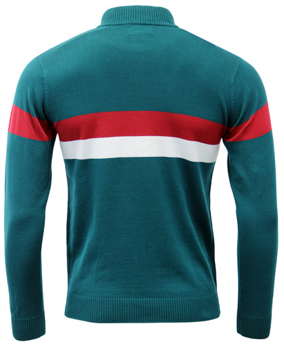 MADCAP ENGLAND RETRO 60s MOD CYCLING TOP VELOCITA