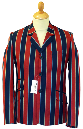 Backbeat MADCAP ENGLAND Retro Mod Boating Blazer