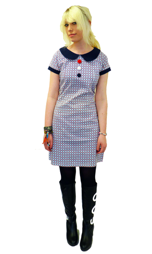 MADCAP ENGLAND RETRO MOD TARGET SIXTIES DRESS MODS