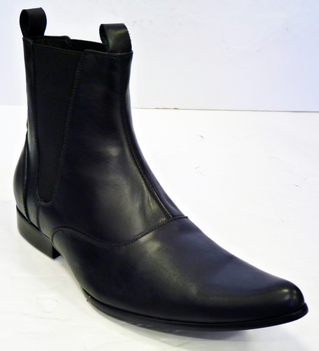 Sixties Shoes Beatles Leather