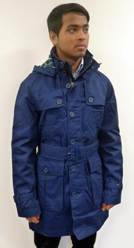 MERC CLOTHING 'Hoxton' Mens Retro Mod Parka (B)