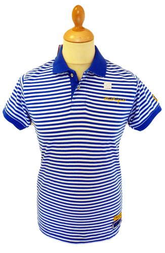 NCAA Collegiate Vintage Michigan Retro Polo Shirt