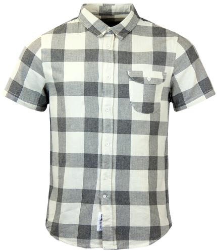 NATIVE YOUTH Retro Mod Chest Pocket Check Shirt