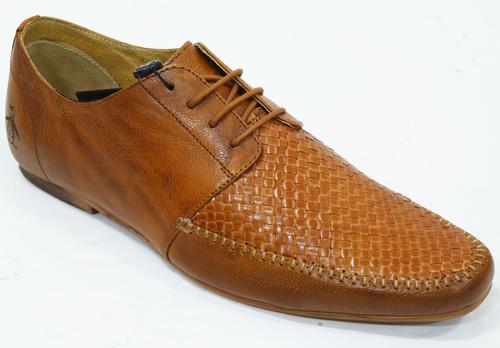 ORIGINAL PENGUIN Pasatiempo | Mens Retro 60s Mod Basket Weave Shoes