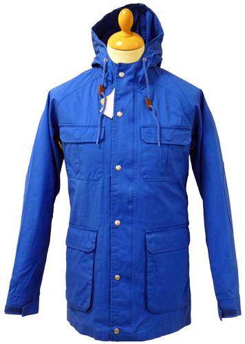 Hooded Parka Coat| ORIGINAL PENGUIN Retro 60s Mod Casual Parka Jacket