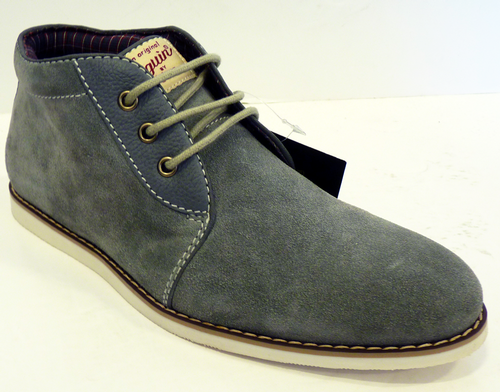 S Mens Mod Shoes Chucker Boots