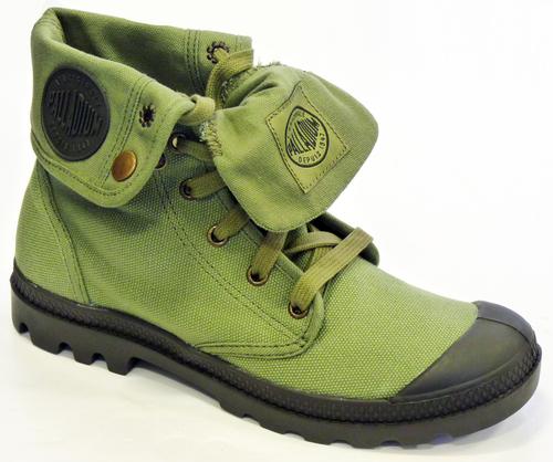 palladium boots womens green