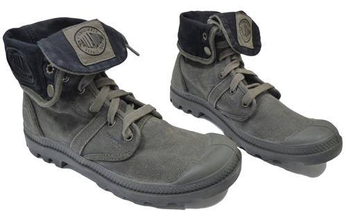 50% Off! PALLABROUSE BAGGY - RETRO MENS CANVAS BOOTS WITH CONTRAS 4ae06e4ad61