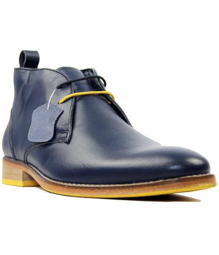 Kingston Leather PAOLO VANDINI Mod Desert Boots N