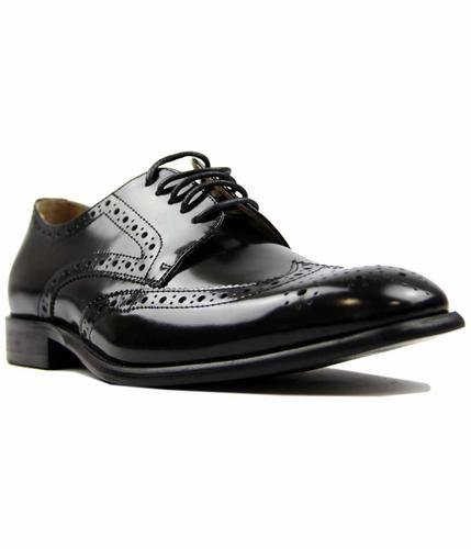PAOLO VANDINI NAVER LEATHER RETRO BROGUES