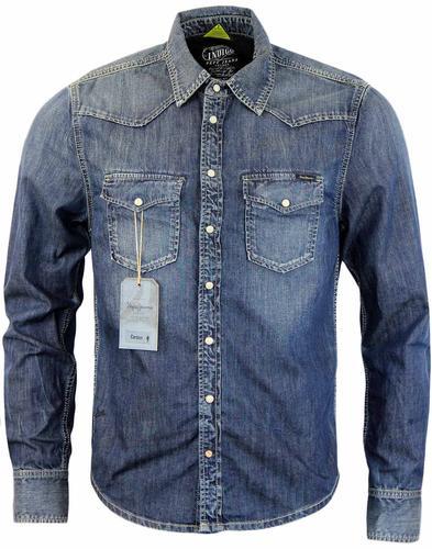 Womens Blue Jean Shirts