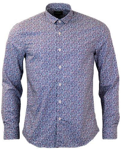 Porter PETER WERTH Retro Ditsy Floral Shirt