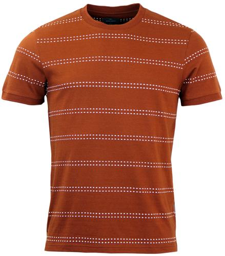 Seymour PETER WERTH Retro Mod Dot Stripe T-Shirt