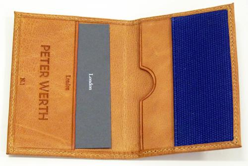 Cator PETER WERTH Retro Mod Leather Cardholder (T)