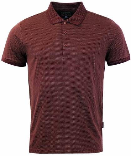 Walter PETER WERTH Dot Weave Retro Mod Polo