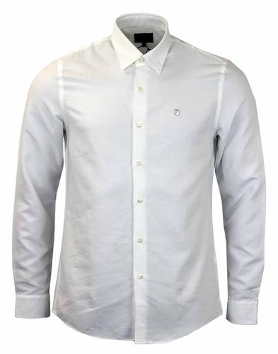 PETER WERTH ELLINGTON WHITE OXFORD SHIRT