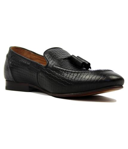 Pierre 2 H by HUDSON Retro Mod Stamp Weave Loafers