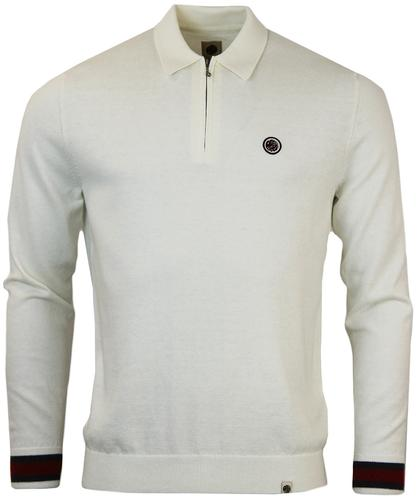 Fernbank PRETTY GREEN Retro Mod Zip Placket Polo