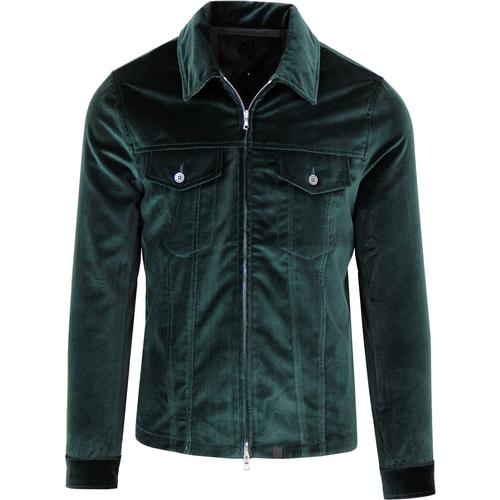 Pretty Green Black Label Velvet Jacket