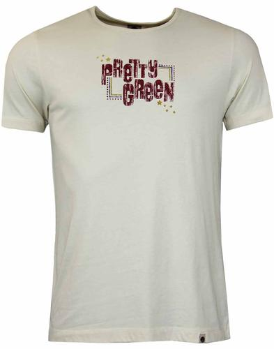 PRETTY GREEN BEATLES INSPIRED RETRO T-SHIRT
