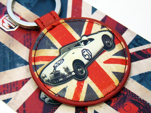 RETRO GIFTS RETRO MG CAR KEYRING MG KEY RING