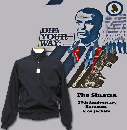 'Baracuta 70th anniversary Icon G9': The Sinatra
