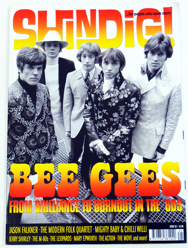 SHINDIG MAGAZINE BEE GEES SIXTIES SEVENTIES MUSIC