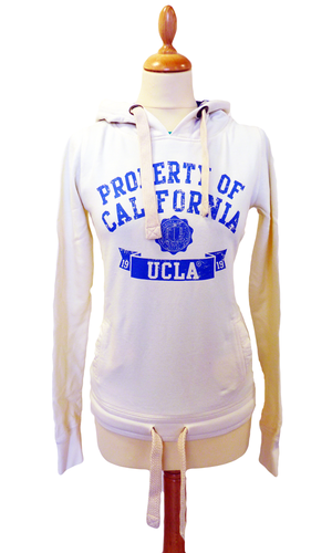 'Fowler' - Women's Retro 1970s Hooded Top by UCLA