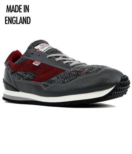 Ensign WALSH Made In England Harris Tweed Trainers