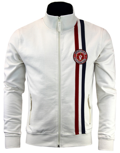 WIGAN CASINO Northern Soul Racing Stripe Track Top