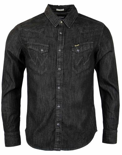 WRANGLER City Western Retro Denim Shirt