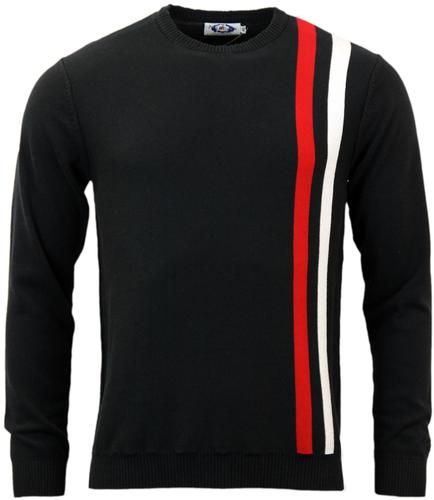 MADCAP ENGLAND ACTION RETRO 60s MOD RACING JUMPER