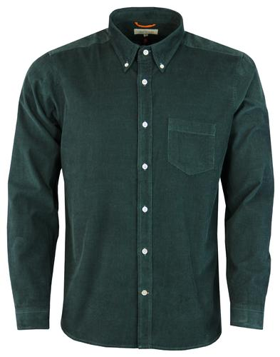 Field AFIELD Mod Needle Cord Button Down Shirt DG
