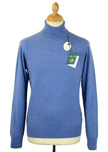 Bunbury ALAN PAINE 60s Mod Roll Neck Wool Jumper J