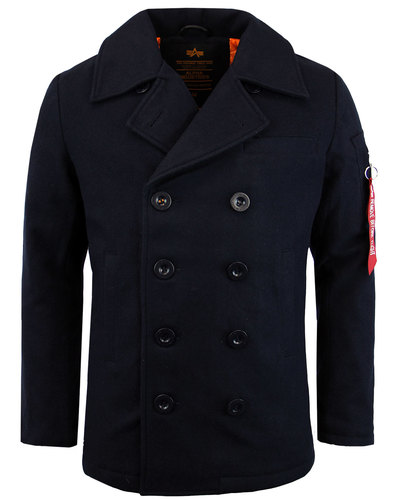 ALPHA INDUSTRIES Retro Mod Military VF Pea Coat