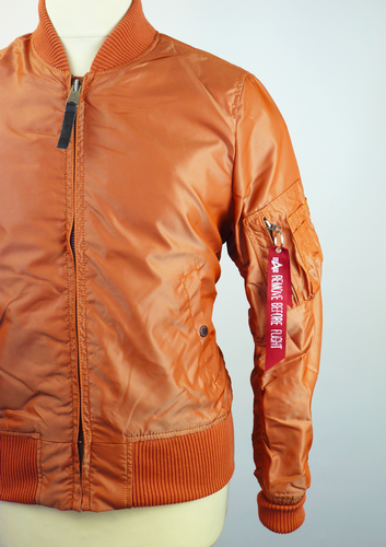 MA1 TT ALPHA INDUSTRIES Retro Mod Bomber Jacket BO