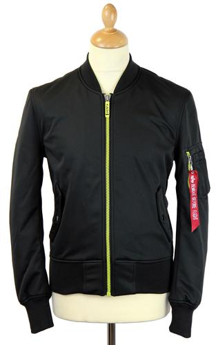 MA-1 Soft Shell ALPHA INDSUTRIES Bomber Jacket (B)