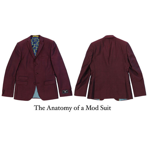 Cover photo  for The Anatomy of a Mod Suit: What makes a Mod Suit mod?