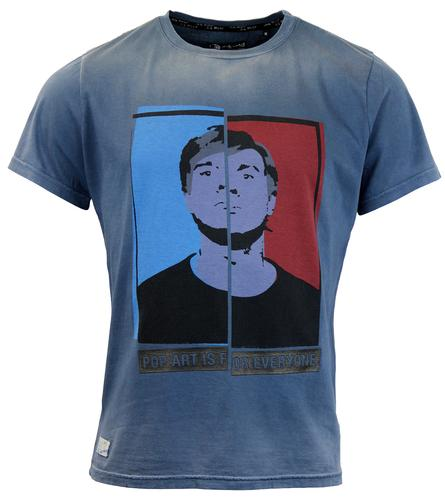 Bell ANDY WARHOL BY PEPE JEANS Retro Pop Art Tee