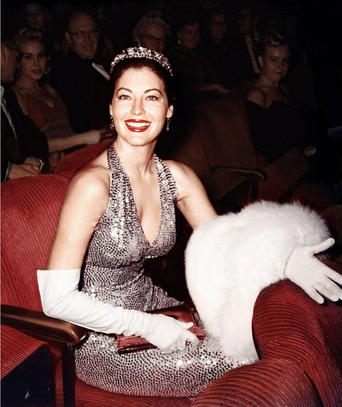 Ava Gardner at the 1960 Oscars